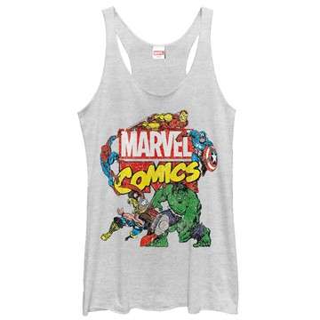Marvel Comics Avengers Classic Marvel Tank Top Juniors T-Shirt