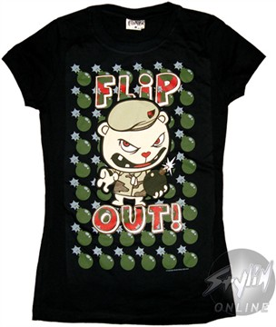 Happy Tree Friends Flip Baby Tee