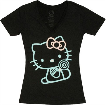 Hello Kitty Outline Baby Tee