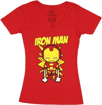 Iron Man Toy Liftoff Baby Tee