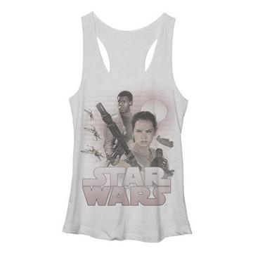 Star Wars TFA Rey Finn Tank Top Juniors T-Shirt