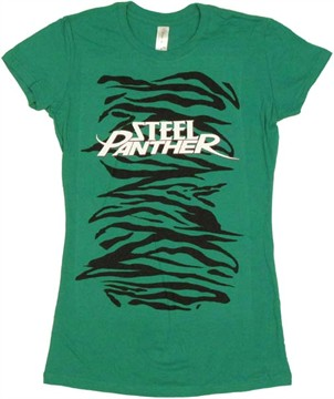 steel panther shirt. Steel Panther Name Baby Tee