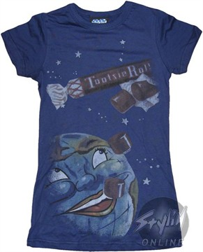 Tootsie Roll Space Baby Tee