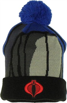 GI Joe Cobra Commander Woven Head Cuff Beanie