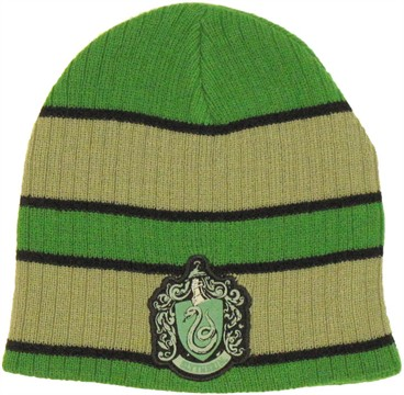Harry Potter Slytherin Thick Stripe Beanie