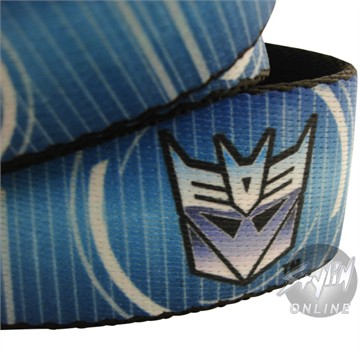 Transformers Decepticon Logo Mesh Belt