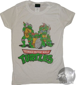 Teenage Mutant Ninja Turtles Group Baby Tee