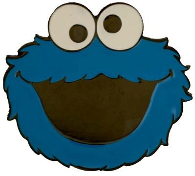 sesame steet cookie monster buckle