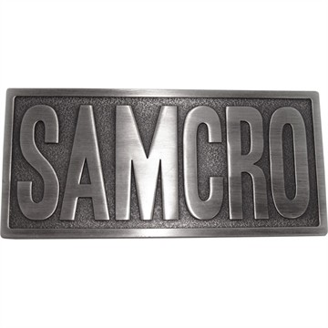Sons of Anarchy SAMCRO Belt Buckle
