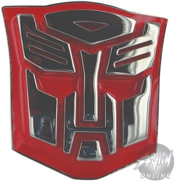 Transformers Autobot Logo Belt Buckle