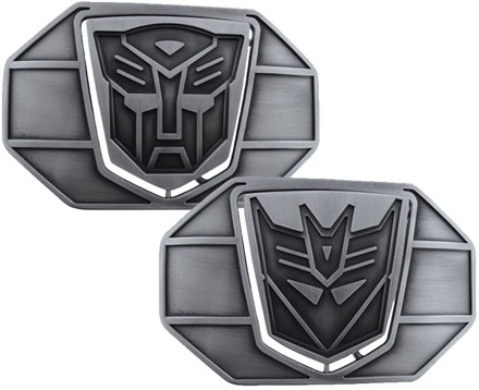 Transformers Logo Belt Buckle