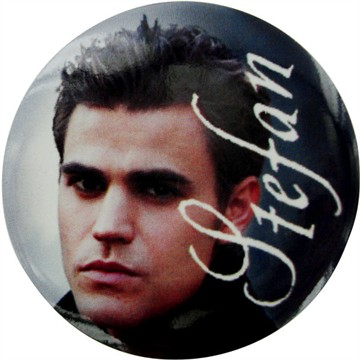 Vampire Diaries Stefan Button