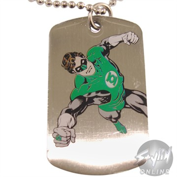 Green Lantern Symbol Dog Tag