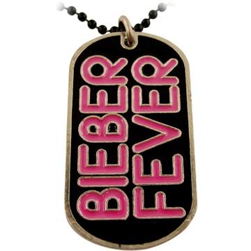 bieber fever id blank. ieber fever bracelets. Justin Bieber Fever Dog Tag