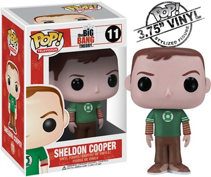 Big Bang Theory Sheldon Pop Vinyl Figurine