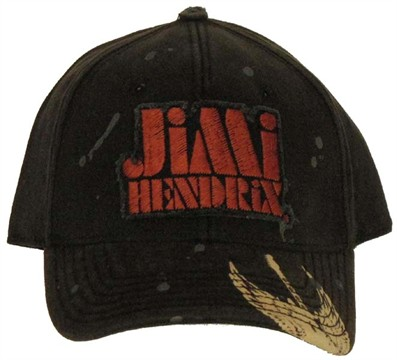 Jimi Hendrix Name Hat