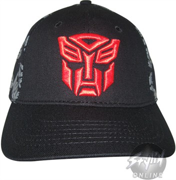 Transformers Autobot Many Symbols Hat