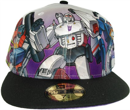 Transformers Decepticon Group Hat