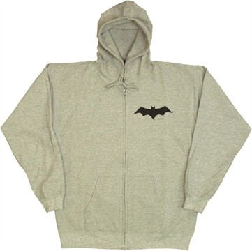 Batman Animated Logo Zip Hoodie