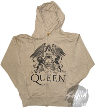 Queen Crest Hoodie