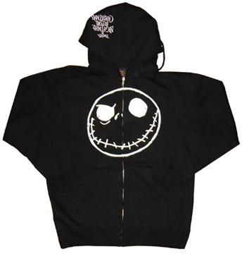 Nightmare Before Christmas Zipper Hoodies