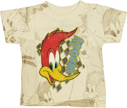 Woody Woodpecker Face Infant T Shirt