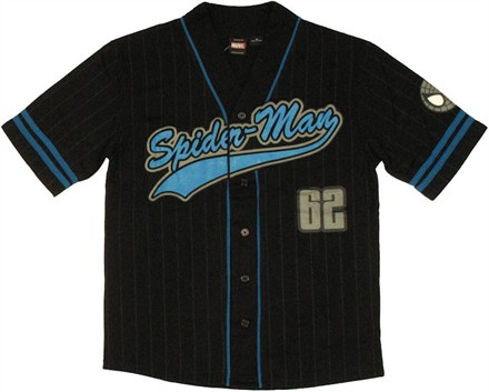 Spiderman Baseball Jersey