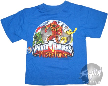 Power Rangers Mystic Force Youth T-Shirt