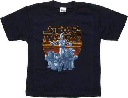Star Wars C-3PO and Ewoks Juvenile T-Shirt