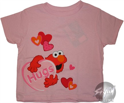 Elmo Hugs Kids T-Shirt