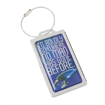 Star Trek Metal Luggage Tag