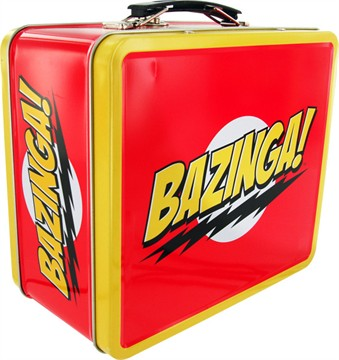 Big Bang Theory Bazinga Lunch Box