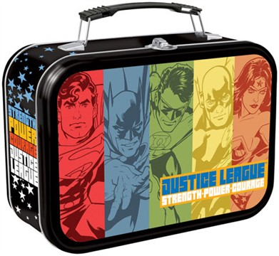 Justice League Tin Lunch Box