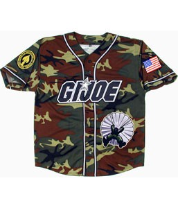 GI Joe Baseball Jersey