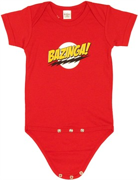 Big Bang Theory Bazinga Snap Suit