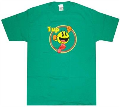 Pac Man 1 Up T-Shirts