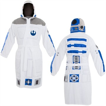 Star Wars R2-D2 Hooded Robe