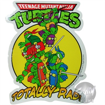 Teenage Mutant Ninja Turtles Skateboard Sticker