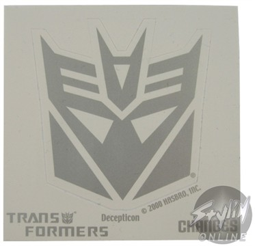 Transformers Logo Sticker