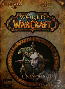 World of Warcraft Undead Sticker
