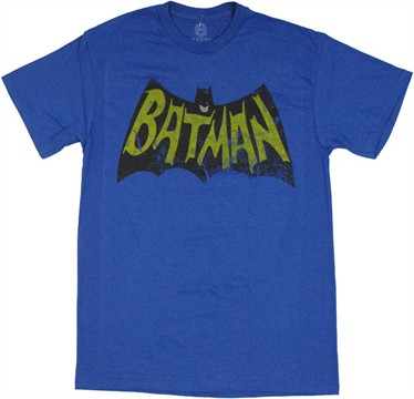 Batman Vintage Logo T Shirt