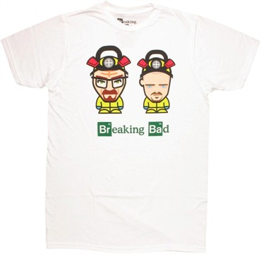 Breaking Bad Mini Toons T Shirt Sheer