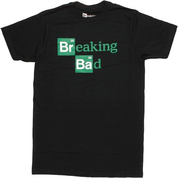 Breaking Bad Periodic Logo T Shirt Sheer
