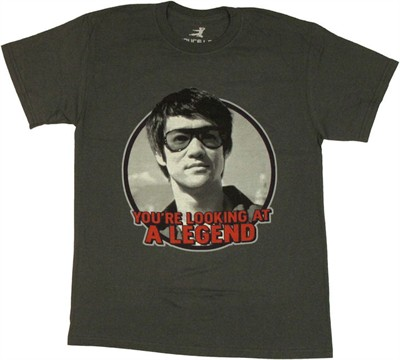 Bruce Lee Legend T Shirt Sheer