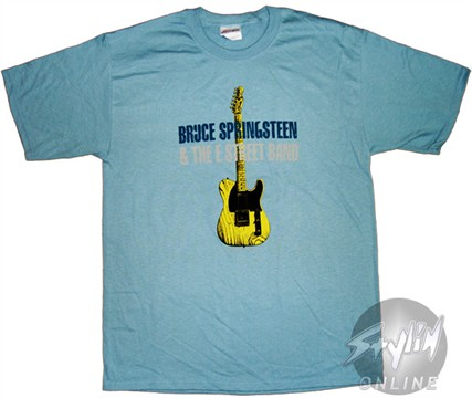 Bruce Springsteen Guitar T-Shirt