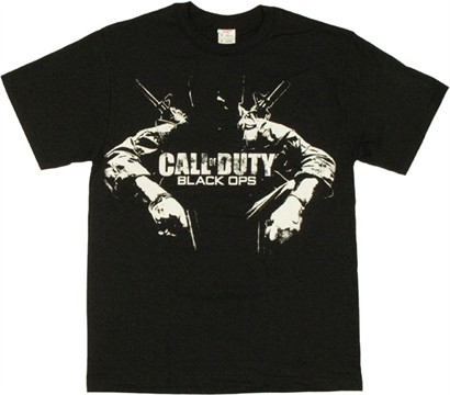 Call Of Duty Black Ops Soldier. Call of Duty Black Ops T Shirt