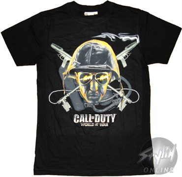 Call of Duty Face T-Shirt Sheer