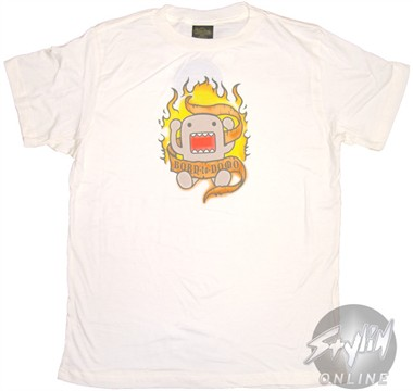 Domo Born Bad T-Shirt Sheer