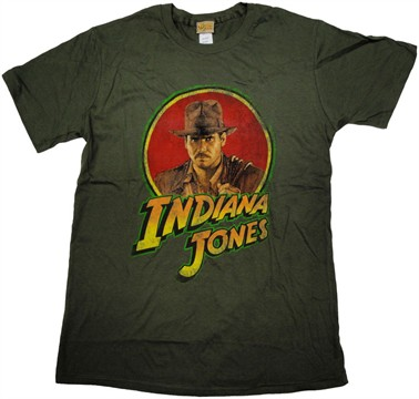 Indiana Jones Hero T Shirt Sheer