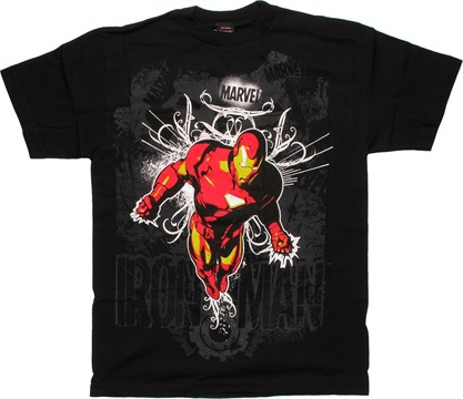 Iron Man Artistic T-Shirt